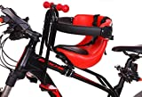 RTZ Child Bike Seats Easy to Install,Quick Portable Kids Bike Safety Front Seat,Compatible Children with Armrest and Pedal 1-4 Years (Up to 50Kg) 619