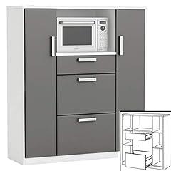 Küchenschrank 8540 weiß