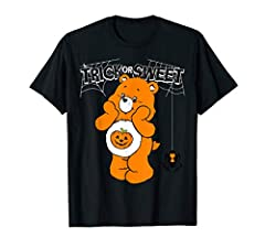 Care Bears Trick or Sweet Bear is 100% authentic, officially licensed Care Bears apparel, that comes in t shirt, v-neck, tank top, longsleeve, pullover hoodie, sweatshirt, raglan, styles! The Care Bears are characters painted by Elena Kucharik in 198...
