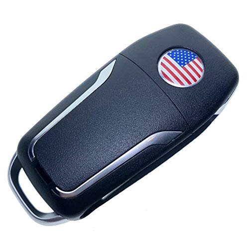 Uniqkey GT Style All in One Flip key remote Replacement for GS300 GS400 GS430 Keyless Entry Control Fob Clicker switchblade Transmitter folding transponder chip Alarm beeper