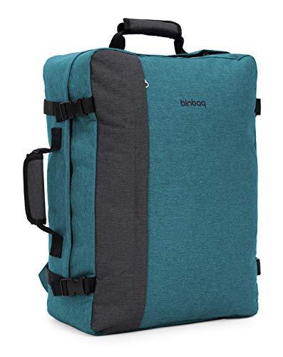 """blnbag M3 - Zaino da cabina, bagaglio a mano Ryanair, zaino da viaggio con scomparto per laptop da 17"""", pratico come una valigia, 35 litri"""