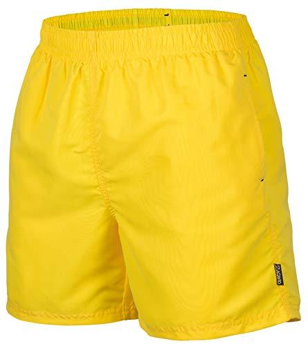 Zagano Adam Lipski Herren Badeshort, 5013.F Yellow, Gr. XL/Badehose/Badeshorts/Beach-Shorts/Bermuda-Shorts/Freizeit-Hose