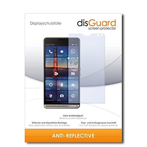 disGuard® Bildschirmschutzfolie [Anti-Reflex] kompatibel mit HP Elite X3 [2 Stück] Entspiegelnd, Matt, Antireflektierend, Extrem Kratzfest, Anti-Fingerabdruck - Panzerglas Folie, Schutzfolie