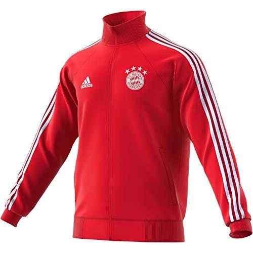 adidas Herren FC Bayern Icons Top Trainingsjacke, Fcbtru/White, M
