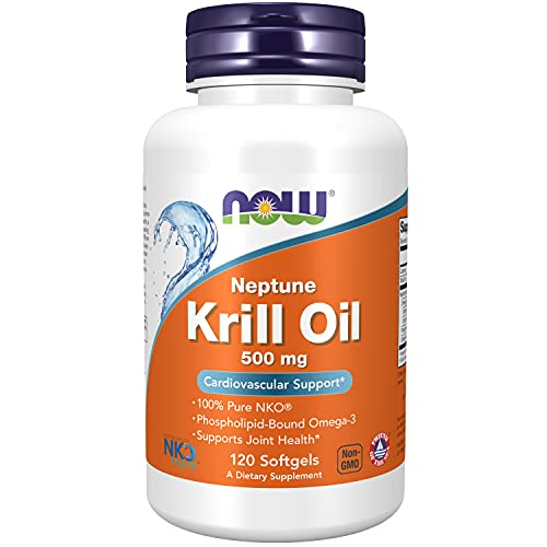 Neptune Krill Oil 500mg (120 Softgels) Now Foods