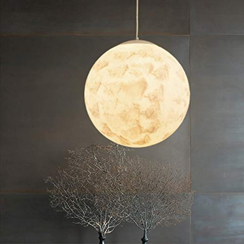 Kronleuchter Moon 3D Print Moon Light Restaurant Bedroom Modern Ball