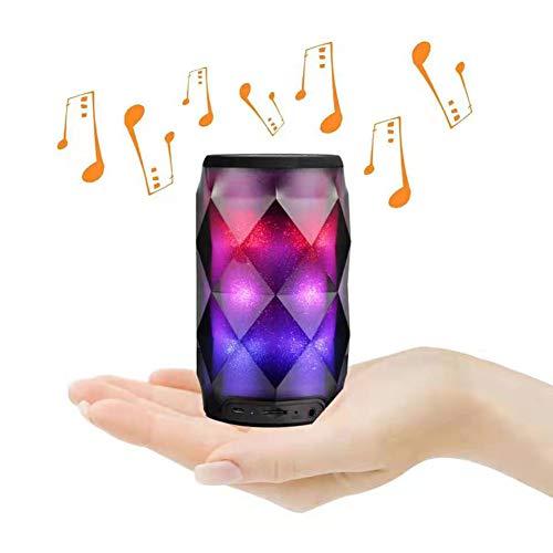 Led-lichtkleuren, bluetooth-luidspreker, draagbaar, touchscreen, mini-luidspreker, subwoofer, draadloos, TF-kaart.