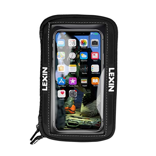 LEXIN LX-MTB03 Motorcycle Tank Bag, Motorcycle Magnetic Phone Holder, Big Size Phone Case for iPhone Android up to 6.5 Inch
