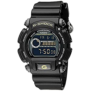 Casio G-Shock Quartz Watch with Resin Strap, Black, 25 (Model: DW9052-1CCG)