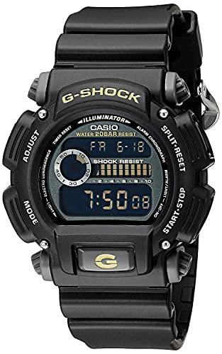 Casio Reloj Digital para Hombre. de Cuarzo con Correa en Plstico DW-9052-1CCG