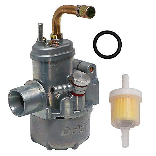 Dokili Vergaser für Zündapp Bing Carburettor Replica 12 MM NEW Tuning 1/17/54, Vergaser Kraftstoff filter