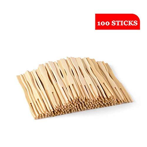 Marco de madera desechable | 100% natural, ecológico, biodegradable y compostable. Adecuado para fiestas, banquetes, buffets, comidas y la vida cotidiana.