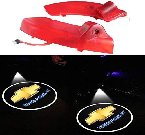 Sunshine Fly 2 Stück Autotür Logo LED Türbeleuchtung KFZ Willkommen Türen Einstiegsbeleuchtung Laser Projektor Door Logo Projektion Lichter