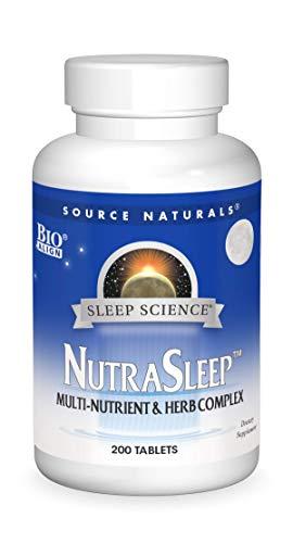 Source Naturals Sleep Science NutraSleep - Multi-Nutrient and Herb...