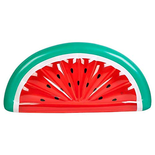 Nologo WMKEDA Pool Party, Lustiges Pool Floats for Erwachsene, Genießen Sie den Pool in der Art mit diesen Pool Reifen Erwachsene, Wassermelone Pool Floatie, Inflatable Swimming Boat