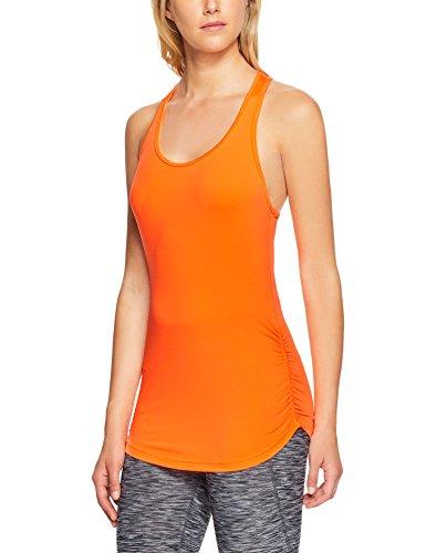 New Balance Damen Perfect Tank-Top-Orange, Silber Shirts, M