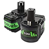 2 Packs P108 Replacement Battery Powtree...