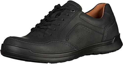 Ecco Howell, Zapatos de Cordones Derby Hombre, Negro (Black 2001), 42 EU