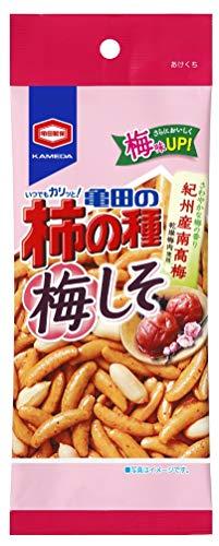 亀田製菓 亀田の柿の種 梅しそパーソナル60g [2160]