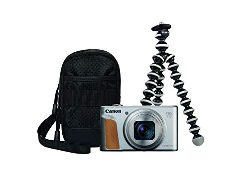Canon PowerShot SX740 HS Fotocamera compatta 20,3 MP 1 2.3  CMOS 5184 x 3888 Pixel Argento