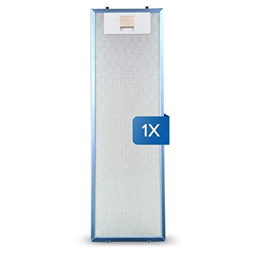 Filtro de grasa de repuesto para AEG 405534414/9 4055344149, filtro de grasa de metal, 512 x 160 mm para campana extractora AEG Electrolux