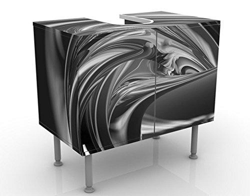 Apalis Waschbeckenunterschrank Fantastic Burning II 60x55x35cm Design Waschtisch, Größe:55cm x 60cm