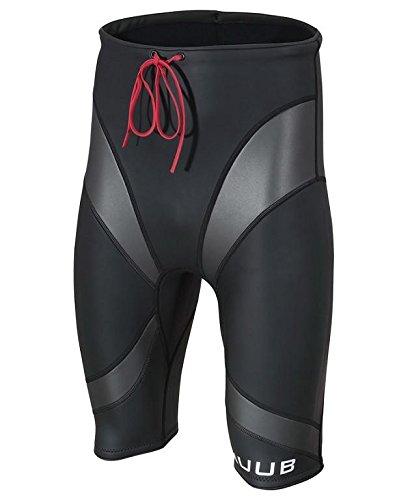 Huub Alpha - Pantalones Cortos para Hombre, Flotabilidad Alfa, Hombre, Color Negro, tamaño Small