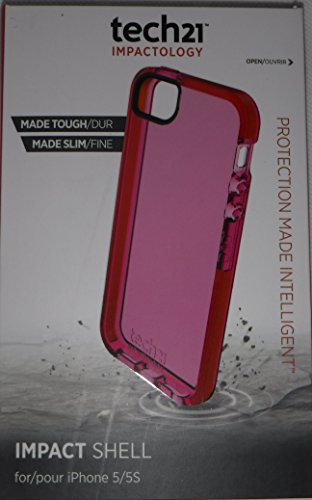 Tech21 T21-3572 - Carcasa para Apple iPhone 5/5S, rosa
