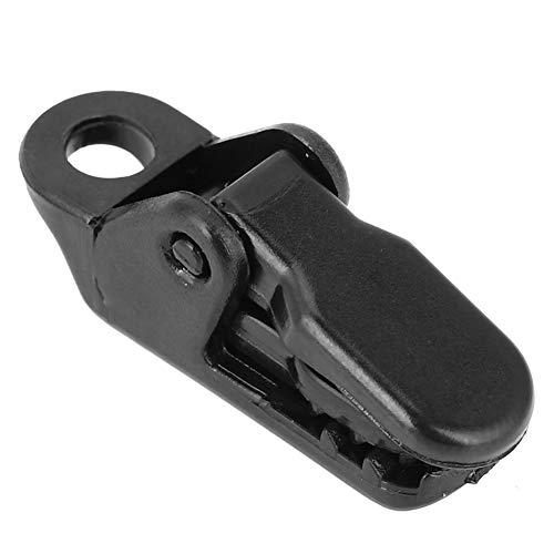 minifinker Clips de Lona, Clip Negro 10pcs Mini práctico de plástico para Carpa Reforzada para toldo Fijo