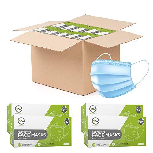 Disposable Face Mask, Wholesale, Breathable Masks 3 Ply, Level 2 Masks, For Adults or Kids, Men or Women, Bulk (3000)