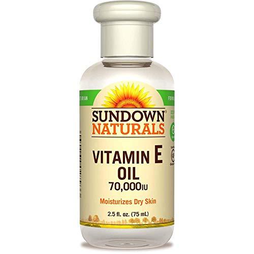 Sundown Naturals Vitamin E Oil 2.50 oz (Pack of 2)