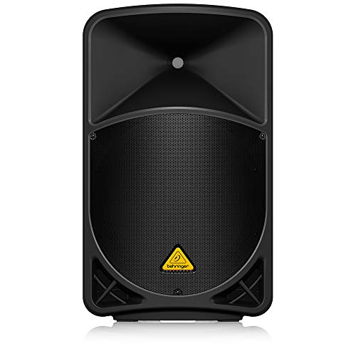 "Behringer Eurolive B115MP3 Active 2-Way 15"" PA Speaker System with MP3 Player, Wireless Option and Integrated Mixer"
