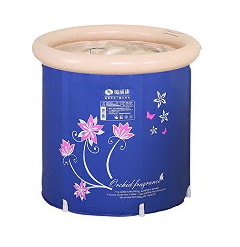 JP bathtub JPYG Aufblasbare Badewanne, zusammenklappbare Wanne Erwachsene Plastikbadewanne, die Bath Barrel Verdickt tragbar