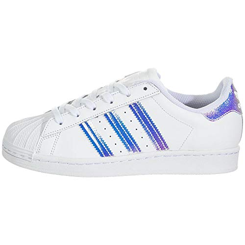 adidas Originals Superstar Shoes, Zapatillas Unisex niños, White, 36 EU