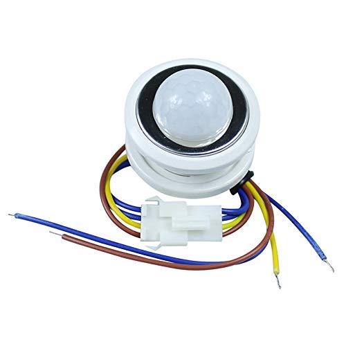 Zay Luay Luces PIR Retraso Ajustable del retardo del Sensor de Movimiento de Rayos Infrarrojos para la lámpara de Techo AC85-265V