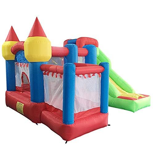 XMEIFEI PARTS Jumper Inflables Castillo Hinchable de PVC de Nylon Oxford Gorila de Salto del trampolín Casa Gorila con el Ventilador for Kid by
