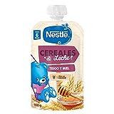 Nestlé Cereales y Leche Trigo y Miel - Pack de 8