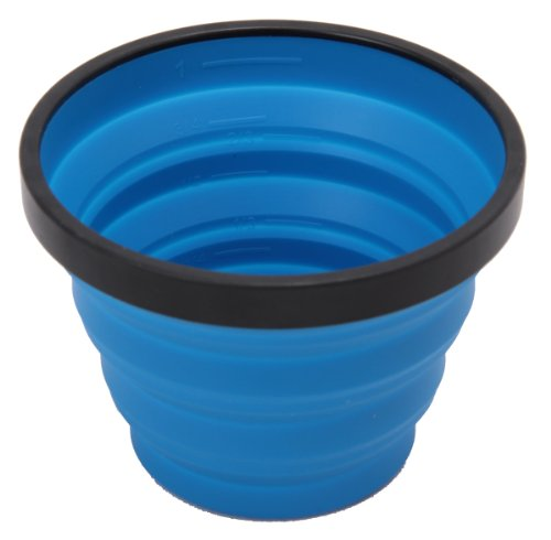 Sea to Summit Unisex X Collapsible Drinking Cup, Blau, 250 ml