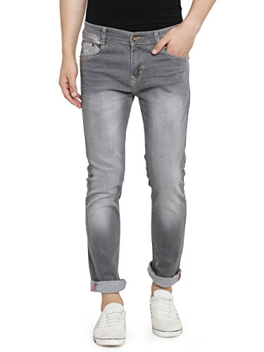 Ben Martin Men's Regular Fit Jeans (BMW-JNS-.LIGHTGREY_34a_Light Grey_34)