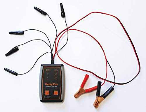 Relay Pro Universal Automotive Relay Tester [12 Volt] Tests 4 & 5 Pin Relays - Made in The USA