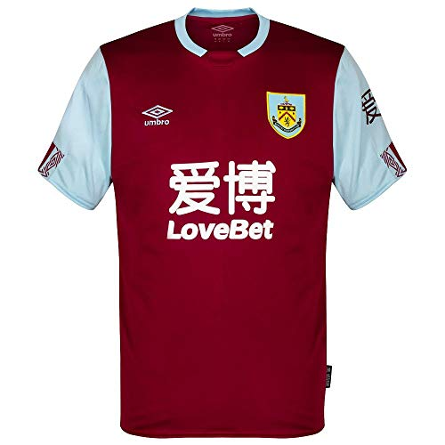 Umbro 2019-2020 Burnley Home - Camiseta de fútbol
