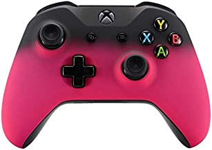 Xbox One Wireless Controller for Microsoft Xbox One - Custom Soft Touch Feel - Custom Xbox One Controller (Pink & Black Fade)