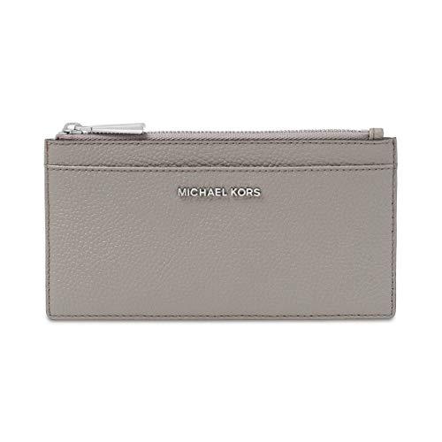 MICHAEL Michael Kors Large Slim Card Case Pearl Grey One Size
