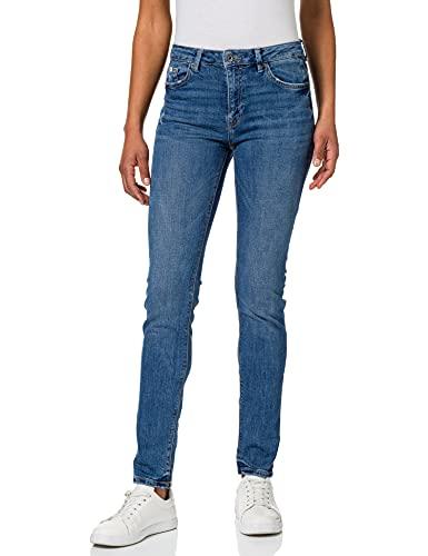 edc by ESPRIT Damen 031CC1B316 Jeans, 902/BLUE MEDIUM WASH, 26/32