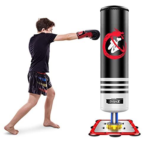 Dripex Punching-Ball Enfant 120 cm Sac de Frappe Boxe...