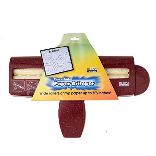 Uchida 437-2024 Corru-Gator Papier-Crimper 21,6 cm Blasen