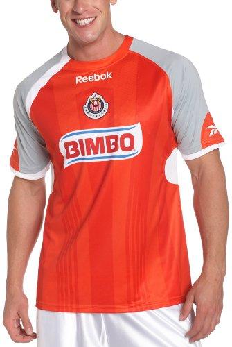Chivas De Guadalajara Short Sleeve Away Jersey, White, Small