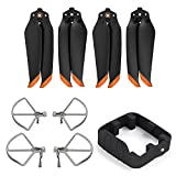 Air 2S/Air 2 Propellers,Propeller Holder,Removable 2 in 1 Propeller Guard, Stabilizer Low Noise Zoom Spare Blades Foldable Extensions Landing Gear for DJI Mavic Air 2 /2S Drone Accessory