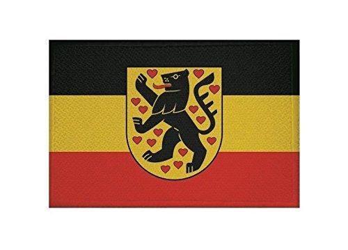 U24 Aufnäher Weimar Fahne Flagge Aufbügler Patch 9 x 6 cm