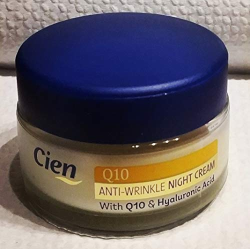 Cien Anti-wrinkle Night Cream with Q10, for All Skin Types, 50ml